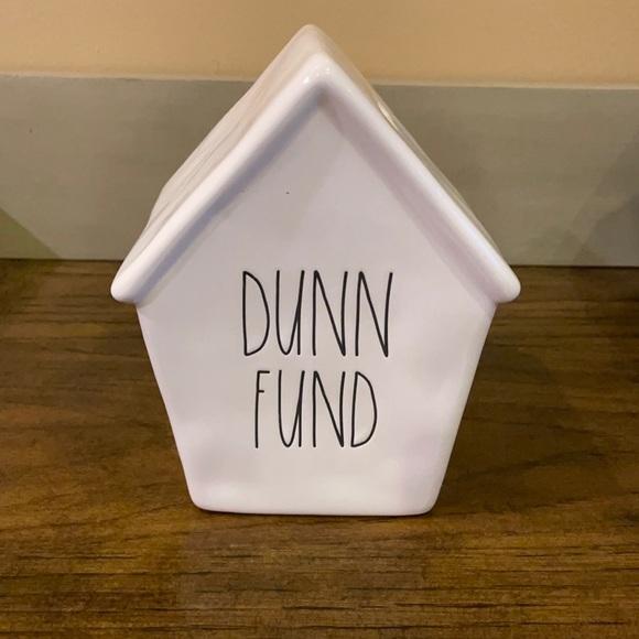 Rae Dunn-Dunn Fund Bank Birdhouse